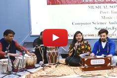 Karuna Manjotra & Amar Chouhan during Musical Sonnet sandhya